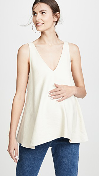 Hatch Paige Top In Ivory
