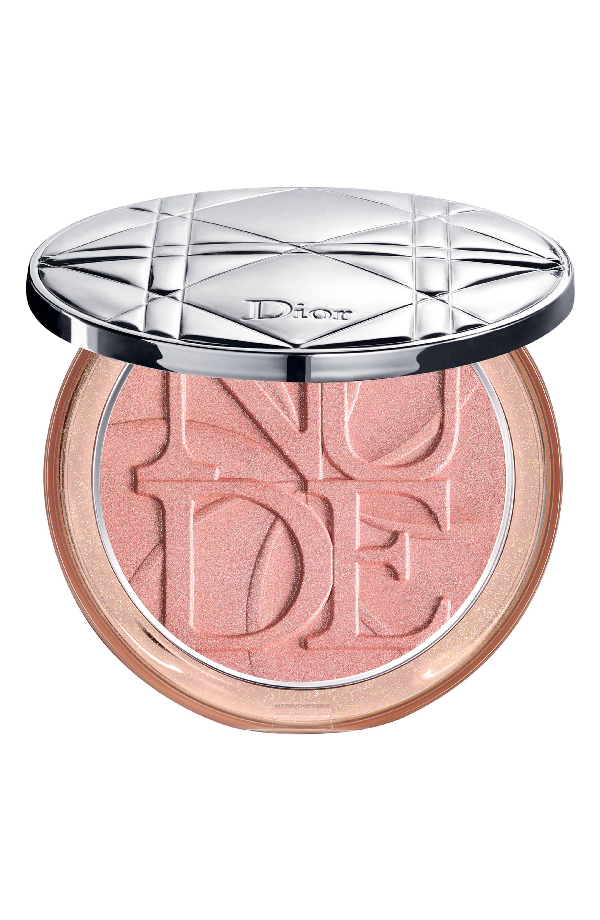Dior Skin Nude Luminizer Lolli'Glow Powder, Limited Edition In Pink Delight
