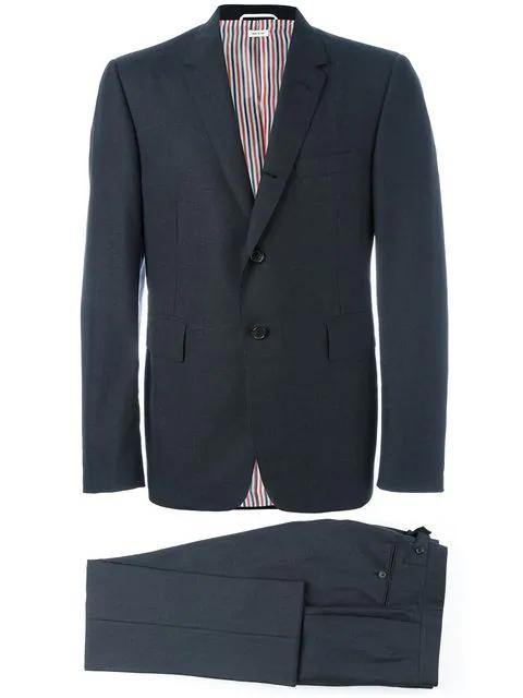 Thom Browne Two Piece Suit - Black