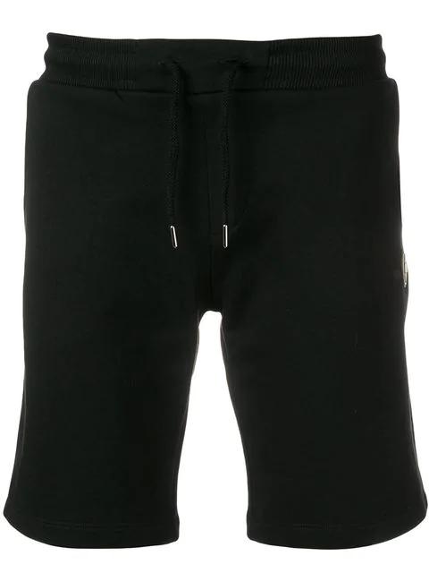 Colmar Side Logo Patch Track Shorts In Black