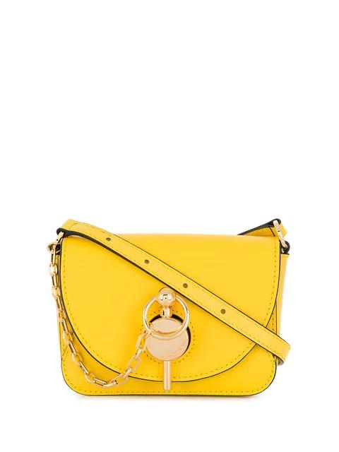 Jw Anderson Nano Keyts Bag In Daffodil Yellow
