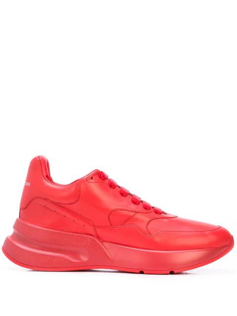 Alexander Mcqueen Oversized-Sneakers In Red