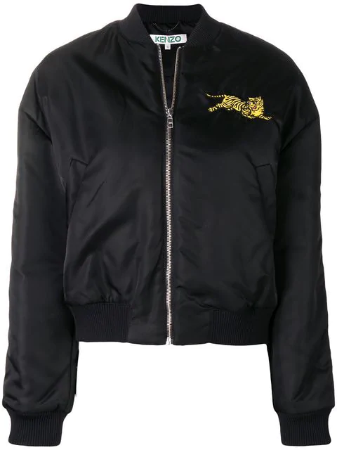 4f8396f3 Kenzo Jumping Tiger Bomber Jacket In Black | ModeSens