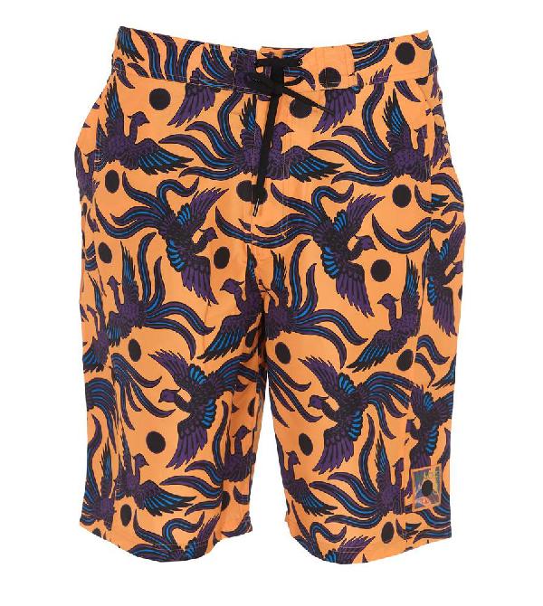 acd7736eb5 Kenzo Printed Swim Shorts In Multi   ModeSens
