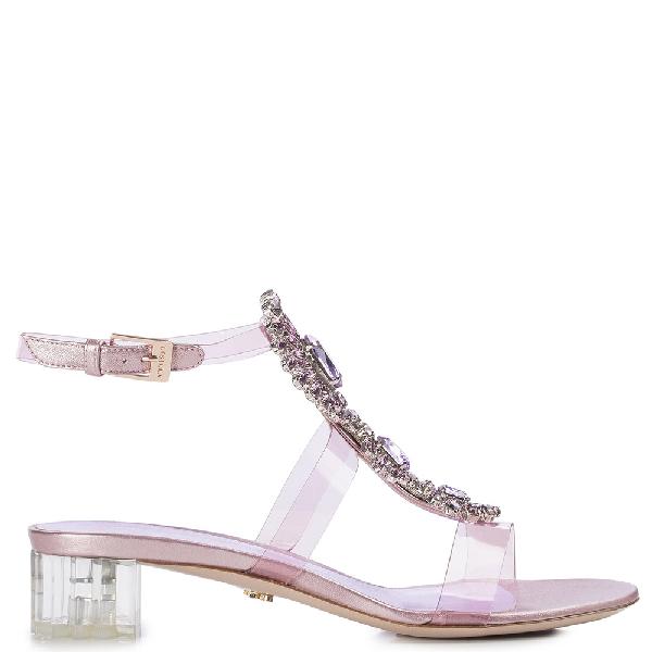 Le Silla Afef Sandal In Macaron