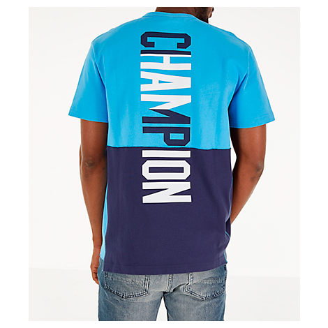 f730c4aa Champion Men's Heritage Shift Pocket T-Shirt, Blue | ModeSens