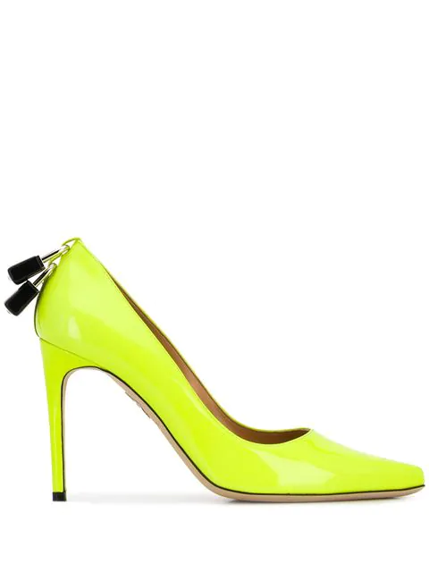Dsquared2 Lock Pumps In Yellow