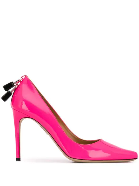 Dsquared2 Lock Pumps In Pink