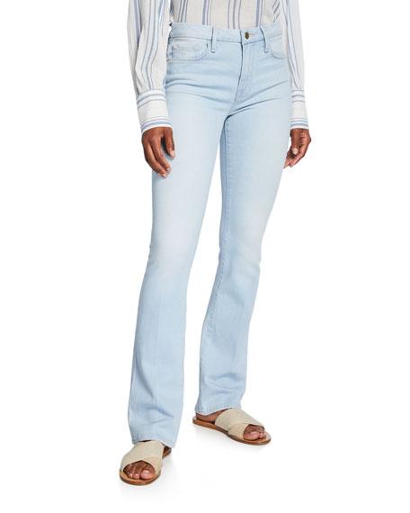 8a474e1f Frame Le Mini Boot Jeans In Ferry | ModeSens
