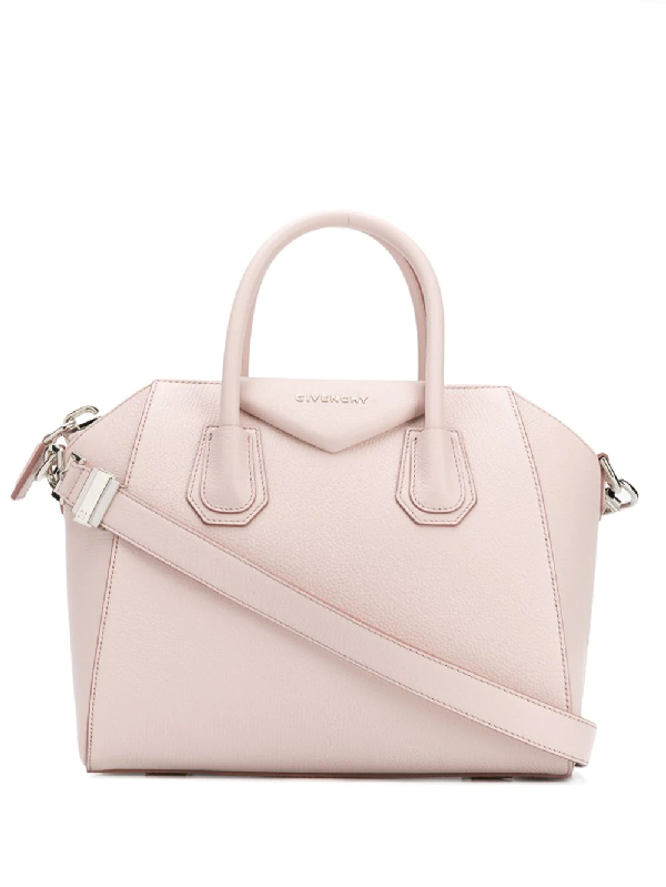 84efcafcab Givenchy Antigona Mini Grained Leather Tote Bag In 680 Pale Pink