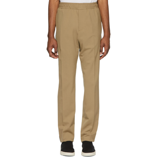 Joseph Beige Eza Trousers In 0162 Camel