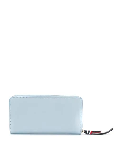 Tommy Hilfiger Zip-Around Wallet In Blue