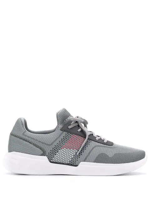 Tommy Hilfiger Corporate Sneakers In Grey