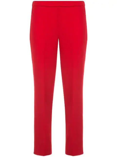 Theory Women's Basic Pull-on Pants In Red
