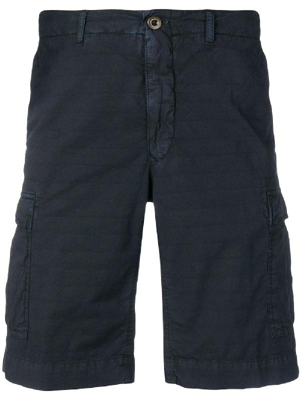 Incotex Cargo-Shorts - Blau In Blue