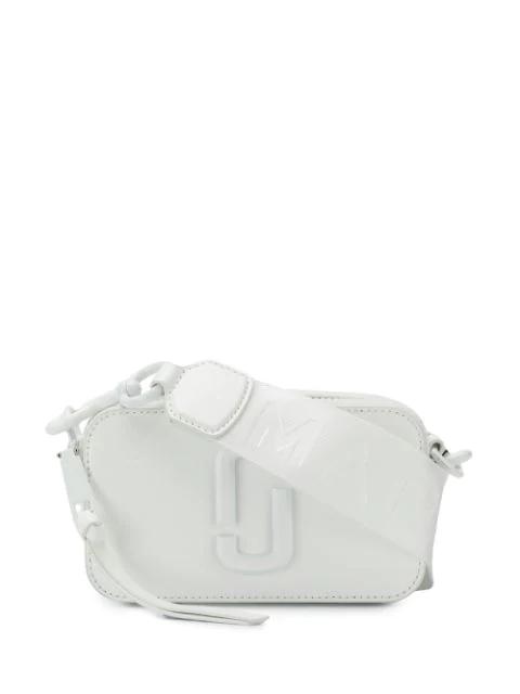 Marc Jacobs Snapshot Leather Crossbody Bag - White