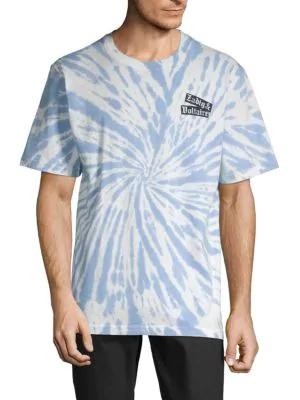 Zadig & Voltaire Tie-dyed Cotton Tee In White