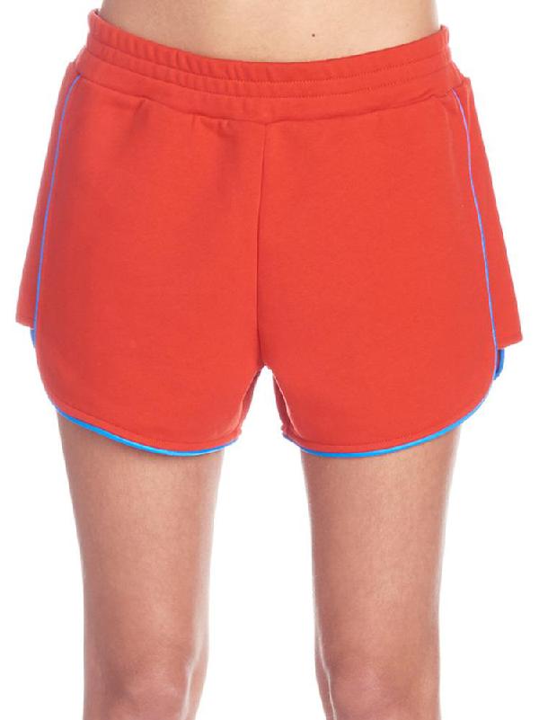 91086307b6 Kenzo Sport Mini Shorts In Red   ModeSens