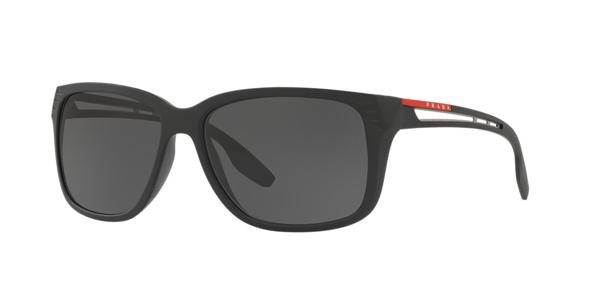 Prada Linea Rossa Sunglasses Black In Grey