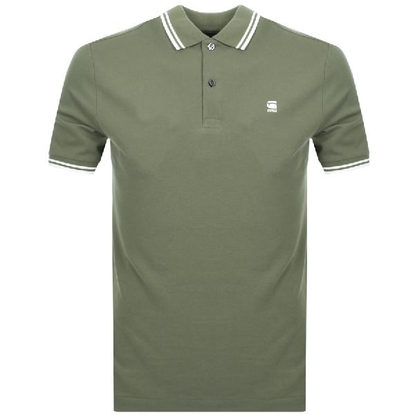 b4d538b41ba G-Star Raw Dunda Polo T Shirt Green | ModeSens