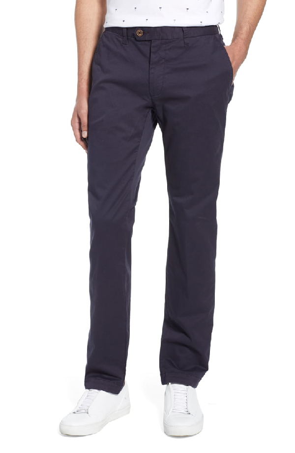 Ted Baker Seenchi Slim Fit Chinos Navy