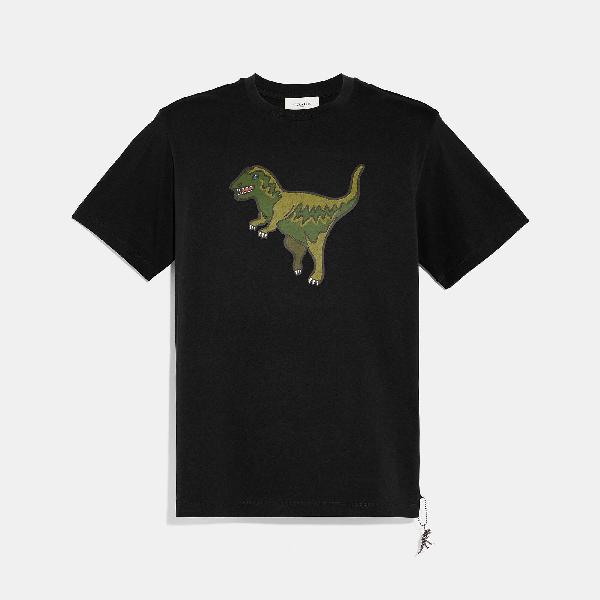 Coach Rexy T-Shirt In Black