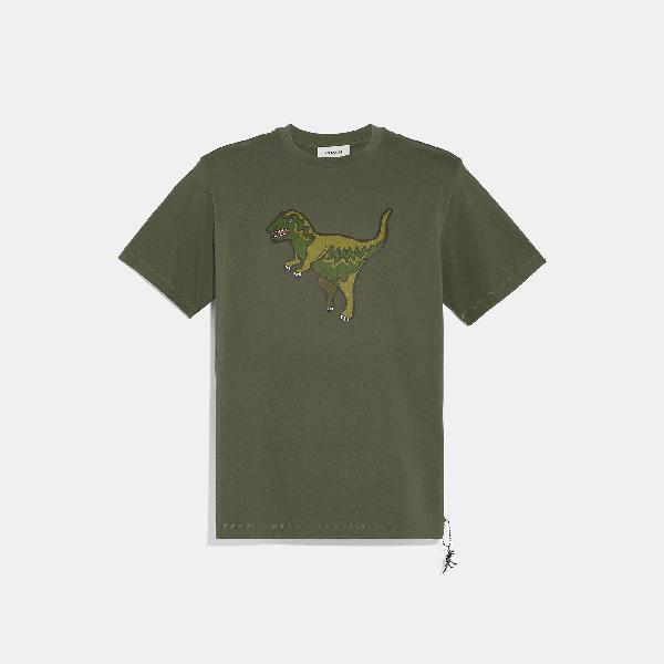 Coach Rexy T-Shirt In Rexy Green
