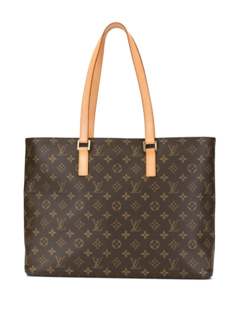 Pre-owned Louis Vuitton Luco Tote In Brown