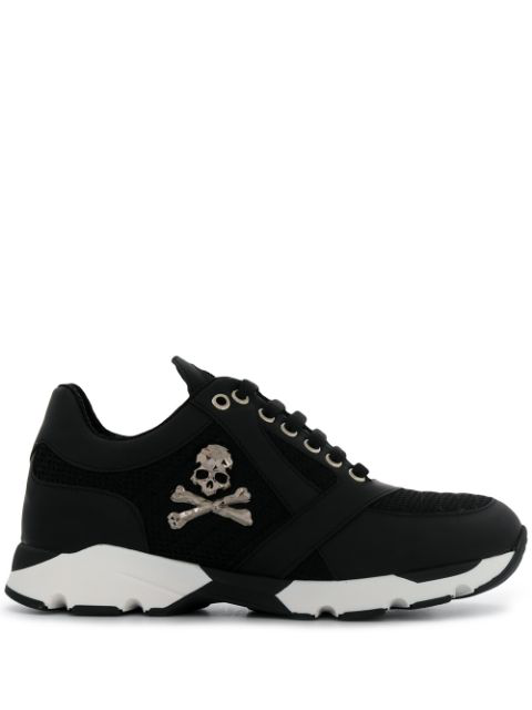 Philipp Plein Lo-top Sneakers In Black