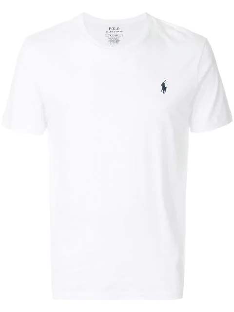 ac4fc2ed Polo Ralph Lauren Men's Big And Tall Pocket Cotton T-Shirt In White ...
