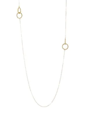 Amali 18k Yellow Gold Link Necklace