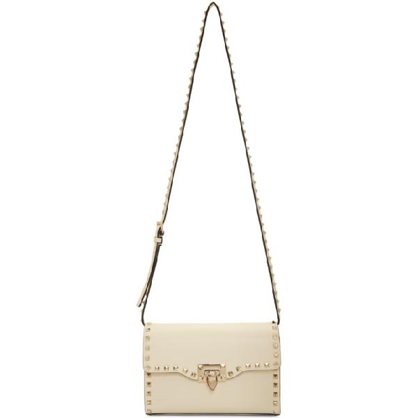 ef6c490f12 Valentino Ivory Garavani Medium Rockstud Flap Bag In I16 Ivory ...