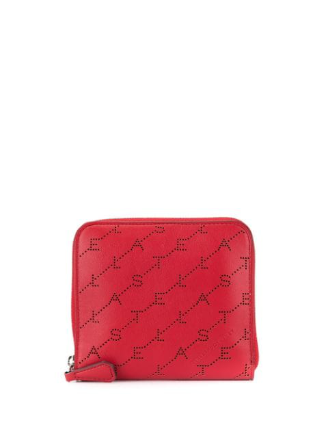 nouvelle arrivee e8307 3f873 Stella Mccartney Portemonnaie Mit Monogramm - Rot in Red