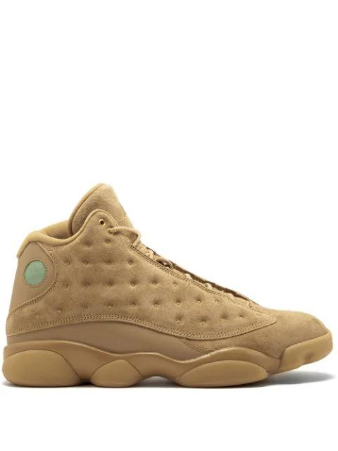 Jordan Air  13 Retro Sneakers In Brown