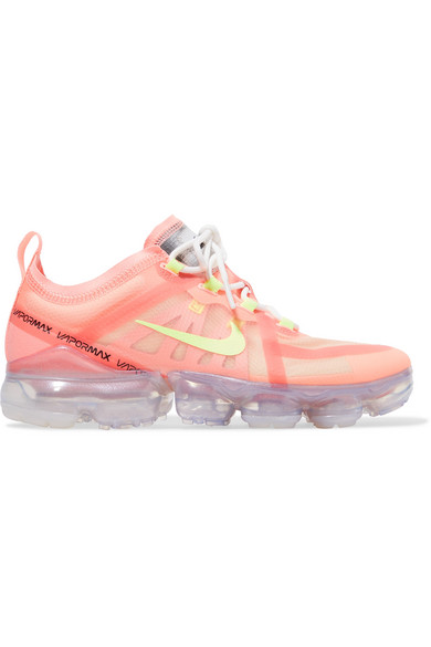 b3b31521 Nike Air Vapormax 2019 Mesh And Pvc Sneakers In Coral | ModeSens
