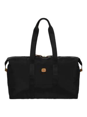 "Bric's Men's X-bag 22"" Folding Duffel Bag In Navy"