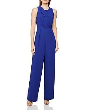 a52e0d405a1 Reiss Chey Back-Cutout Jumpsuit In Blue | ModeSens