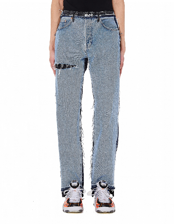 Vetements Black & Blue Jeans