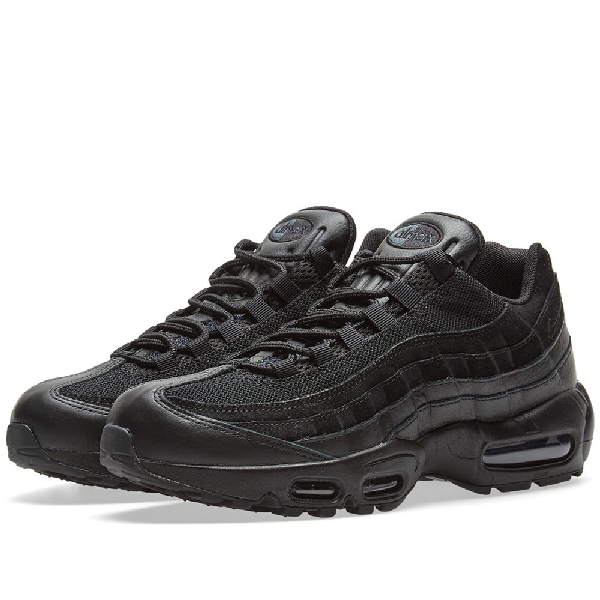Nike Air Max 95 Premium In Black