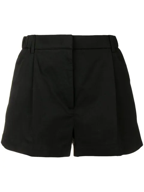 N°21 Nº21 Klassische Shorts - Schwarz In Black