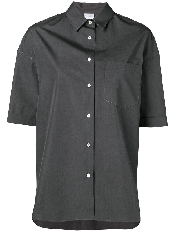 Aspesi Hemd Mit Kastigem Schnitt - Grau In Grey