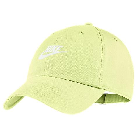 c496f89092 Nike Sportswear H86 Washed Futura Adjustable Back Hat, Women'S, Green