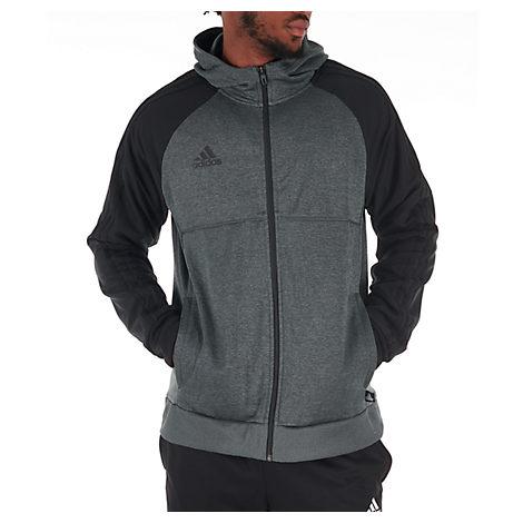 eae271101 Adidas Originals Men's Originals Tango Full-Zip Hoodie, Grey | ModeSens