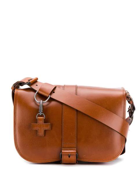A.F.Vandevorst Small Post Bag - Brown