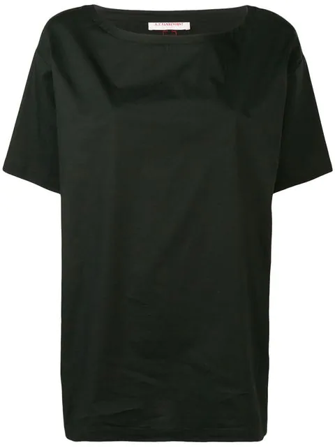 A.F.Vandevorst Kastiges T-Shirt - Schwarz In Black