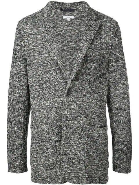 Engineered Garments Knit Jacket In Blue