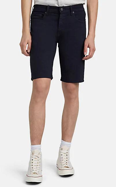J Brand Eli Rolled-Hem Slim Fit Denim Shorts In Navy