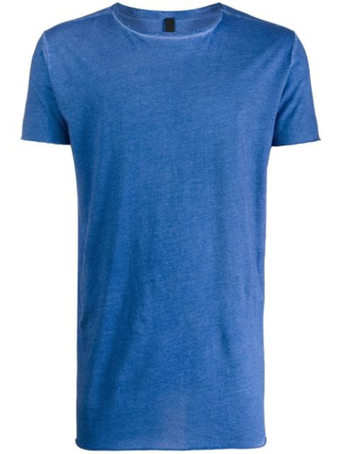 Army Of Me Washed Longline T-shirt In Blue