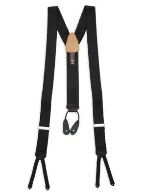 Trafalgar Regal Formal Suspenders In Black