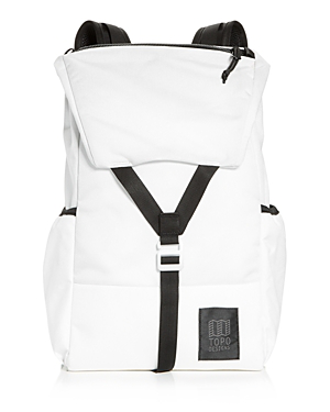 Topo Designs Y-Pack Nylon Backpack In White